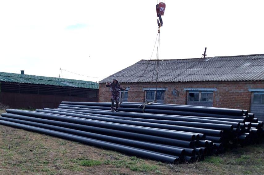 Под Таганрогом приступили к строительству нового водопровода
