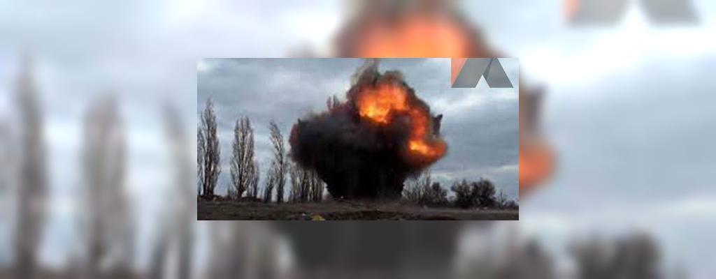 В Горловке опять раздался мощный взрыв