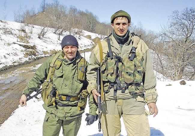 Служба на Кавказе в 487‑м Железноводском пограничном отряде особого назначения