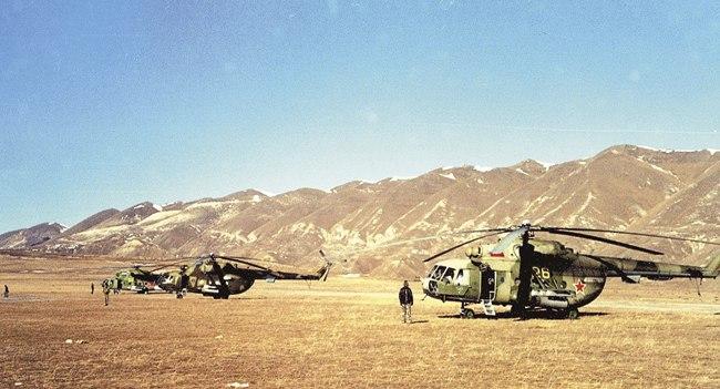 Хунзахский военный аэродром. Отсюда спецназ отправился на операцию против Гелаева и его боевиков