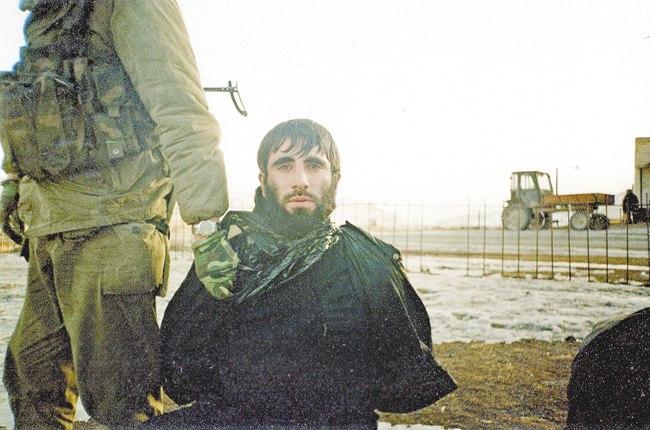 Один из пленных гелаевцев, переданный грузинской стороной