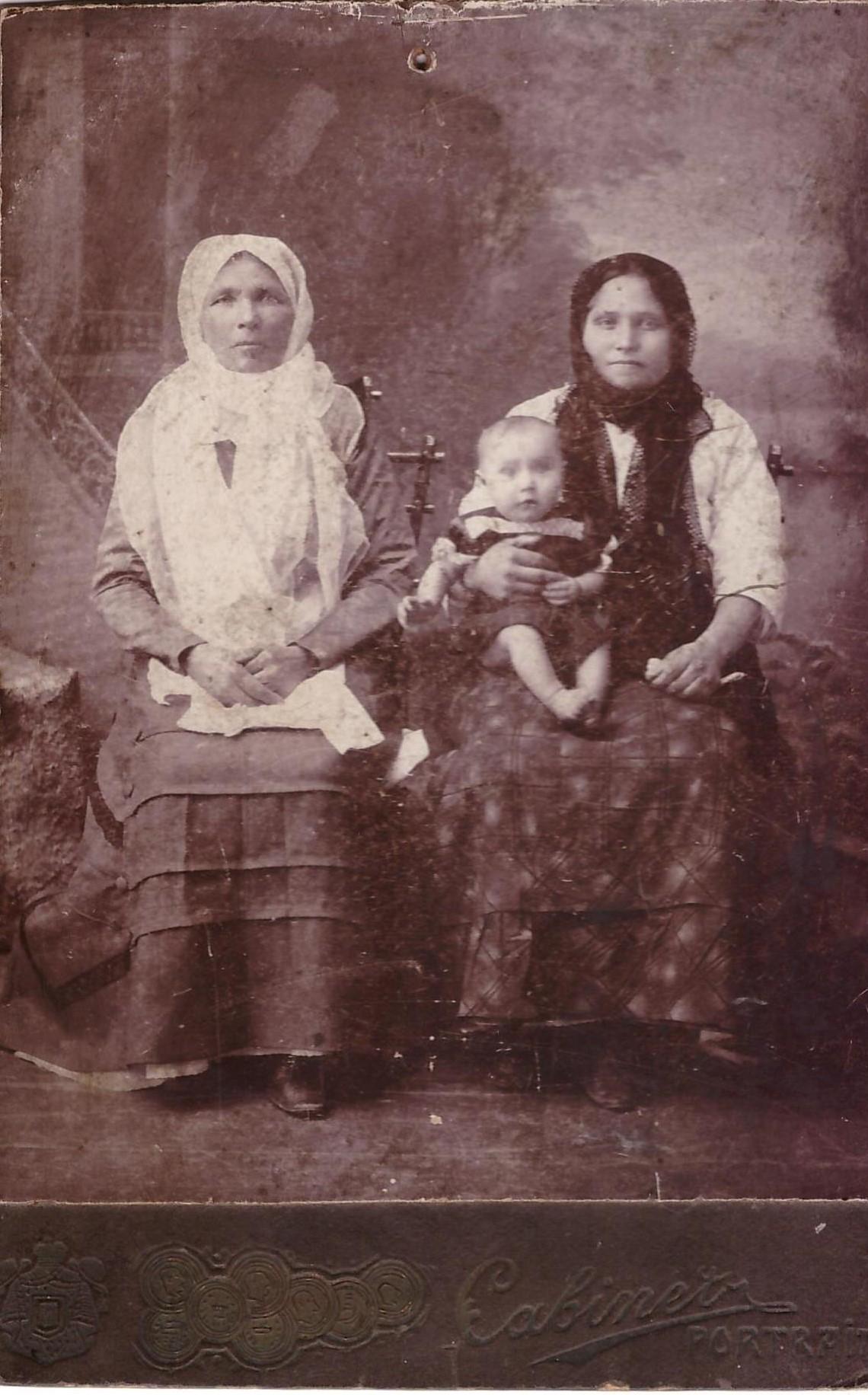 Казачья семья (ст. Анапская), конец 19 в.