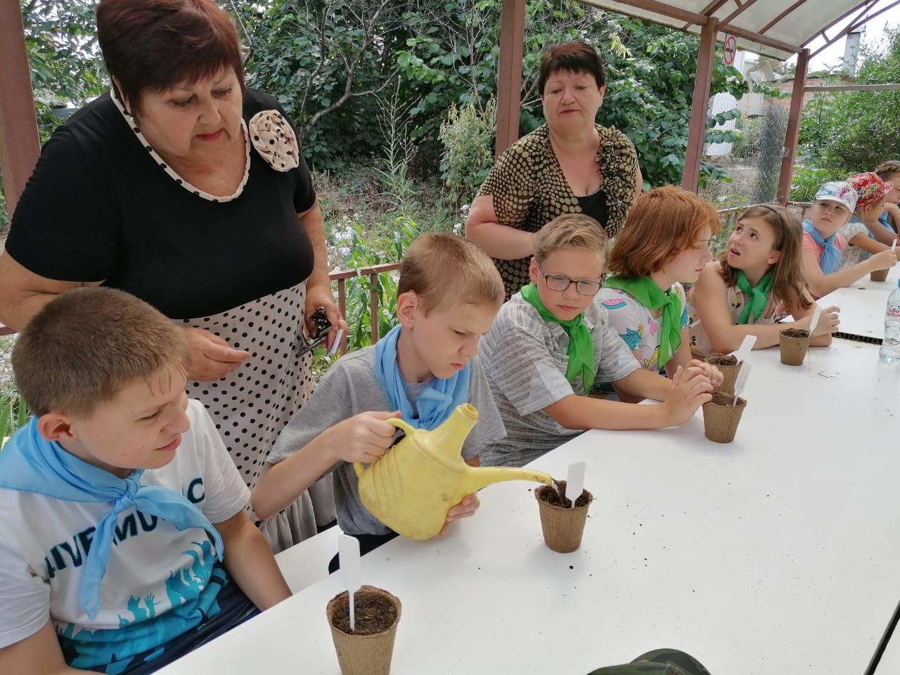Инклюзивные смены таганрогских пришкольных лагерей