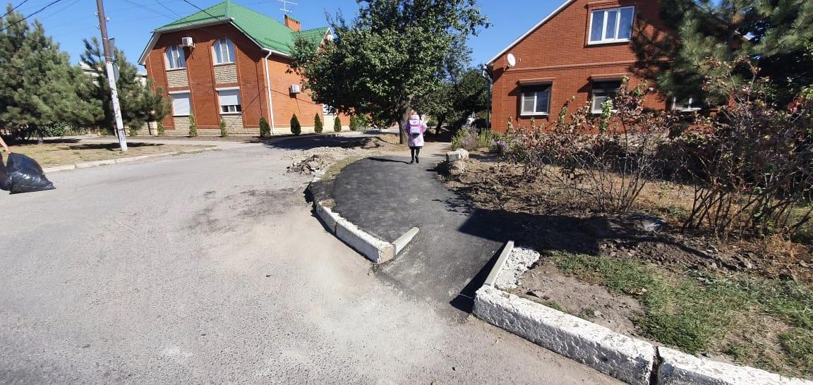 В Таганроге ведутся работы по обустройству пандусов для маломобильной группы населения