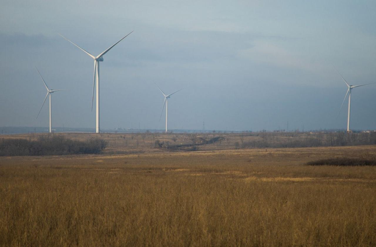 В Ростовской области ввели в эксплуатацию третий ветропарк
