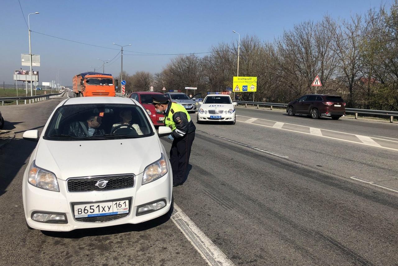 ВНИМАНИЕ! На въездах в Ростов продолжаются проверочные мероприятия